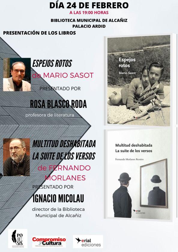 PRESENTACIÓN DE LOS LIBROS EN ALCAÑIZ(1)